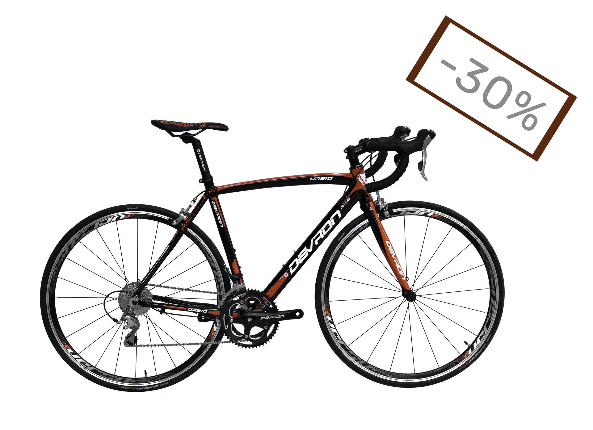 Devron Urbio Road Race R4.8 Speed Black 560mm