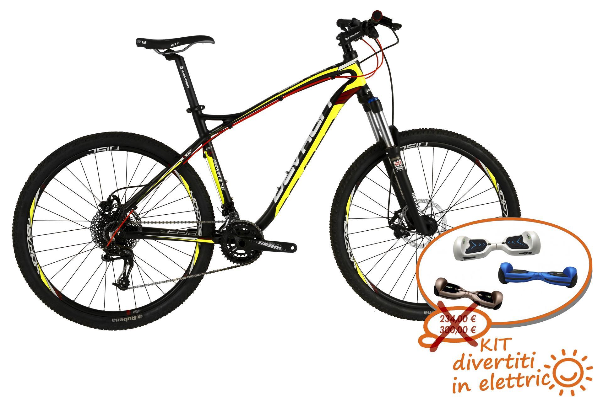 Mountain bike uomo Devron Zerga D5,7 Black Fury 495 mm