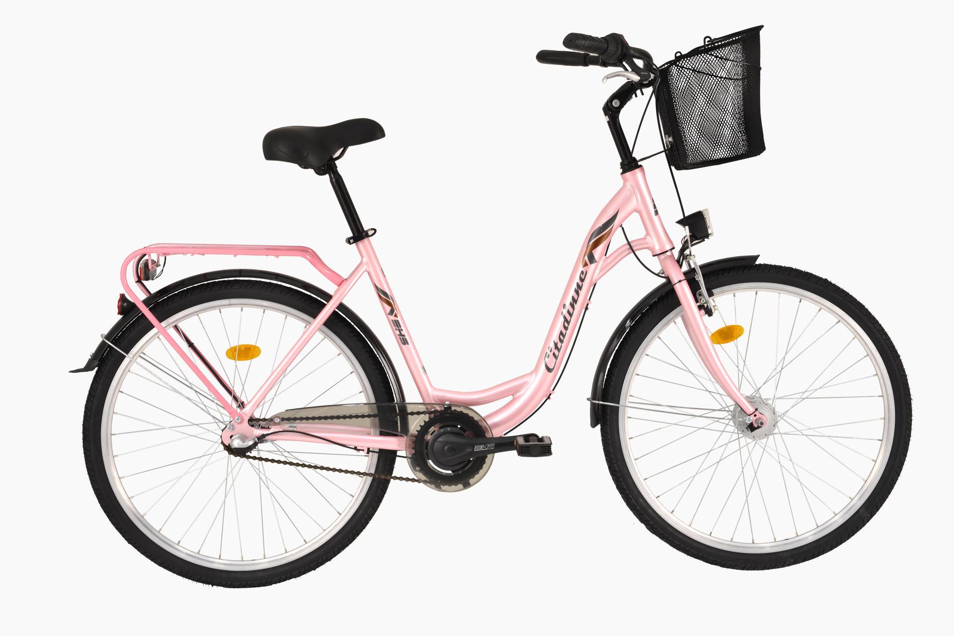 Bicicletta da città DHS Citadinne 2836 Rosa 430mm