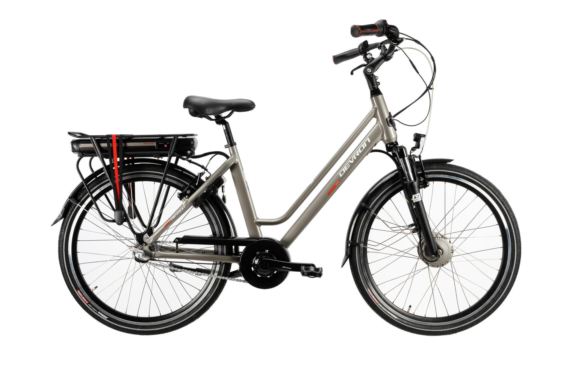 Bicicletta elettrica city bike DEVRON 28122-490 Grey