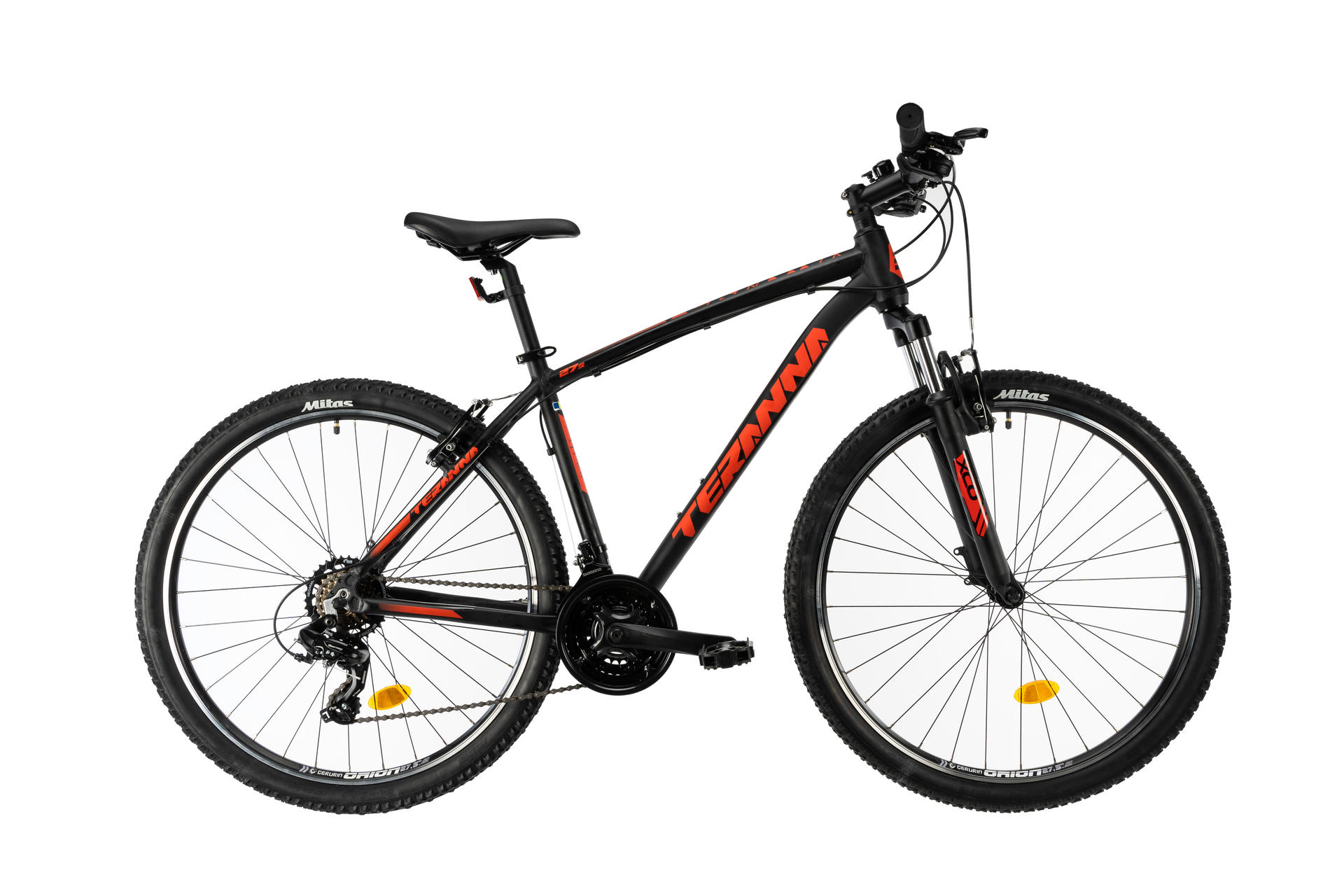 Mountain bike DHS 2723 Black 420mm
