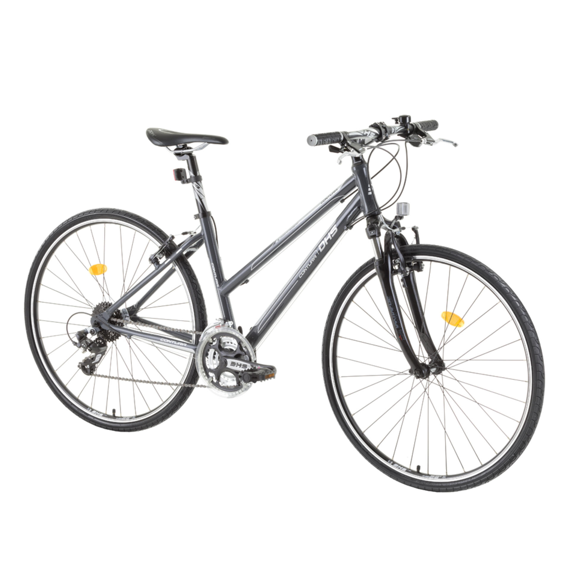 Bicicletta da cross da donna DHS 2866 Grey 495mm