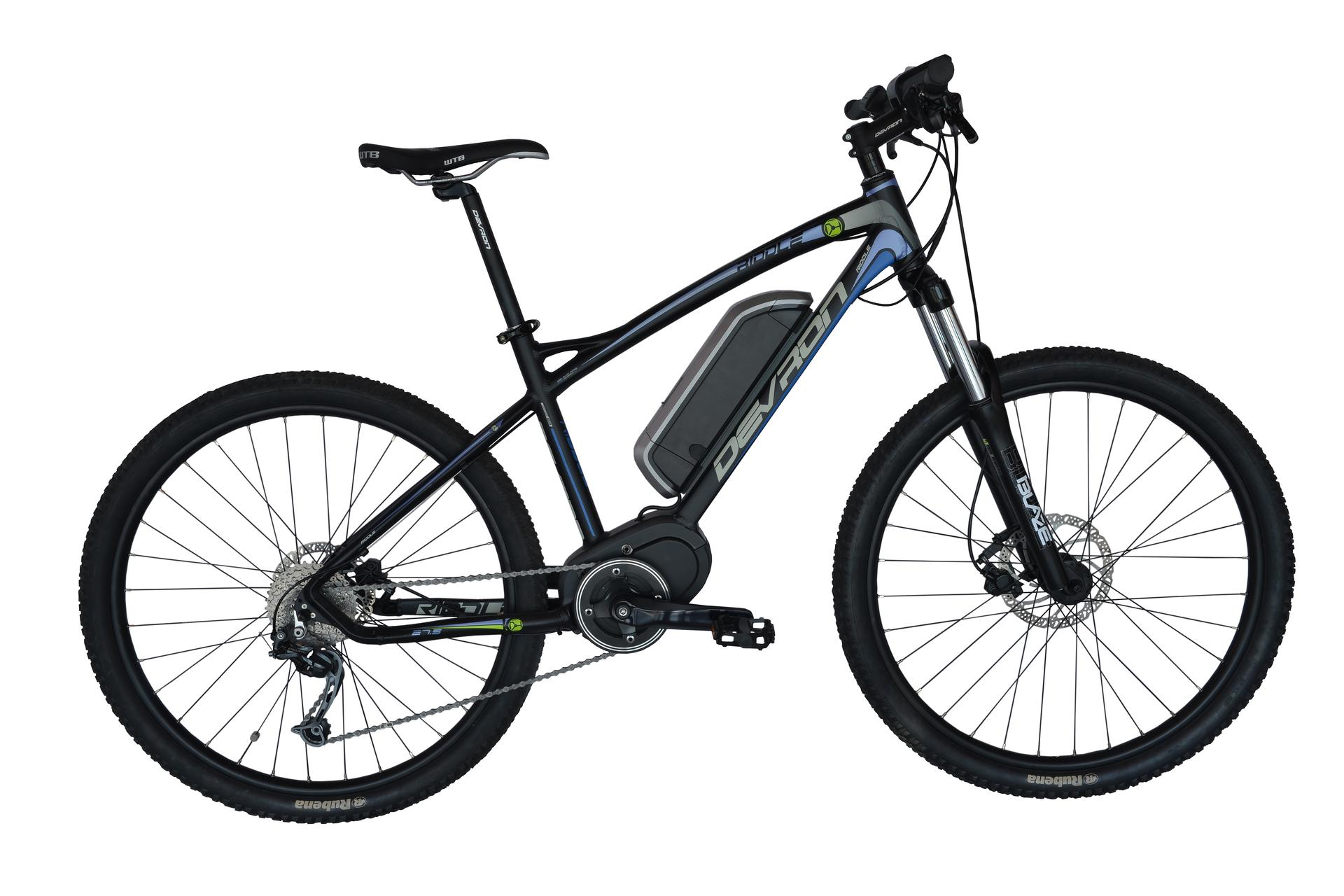 Mountain bike elettrica Devron 27225 495 mm Race Black - 27