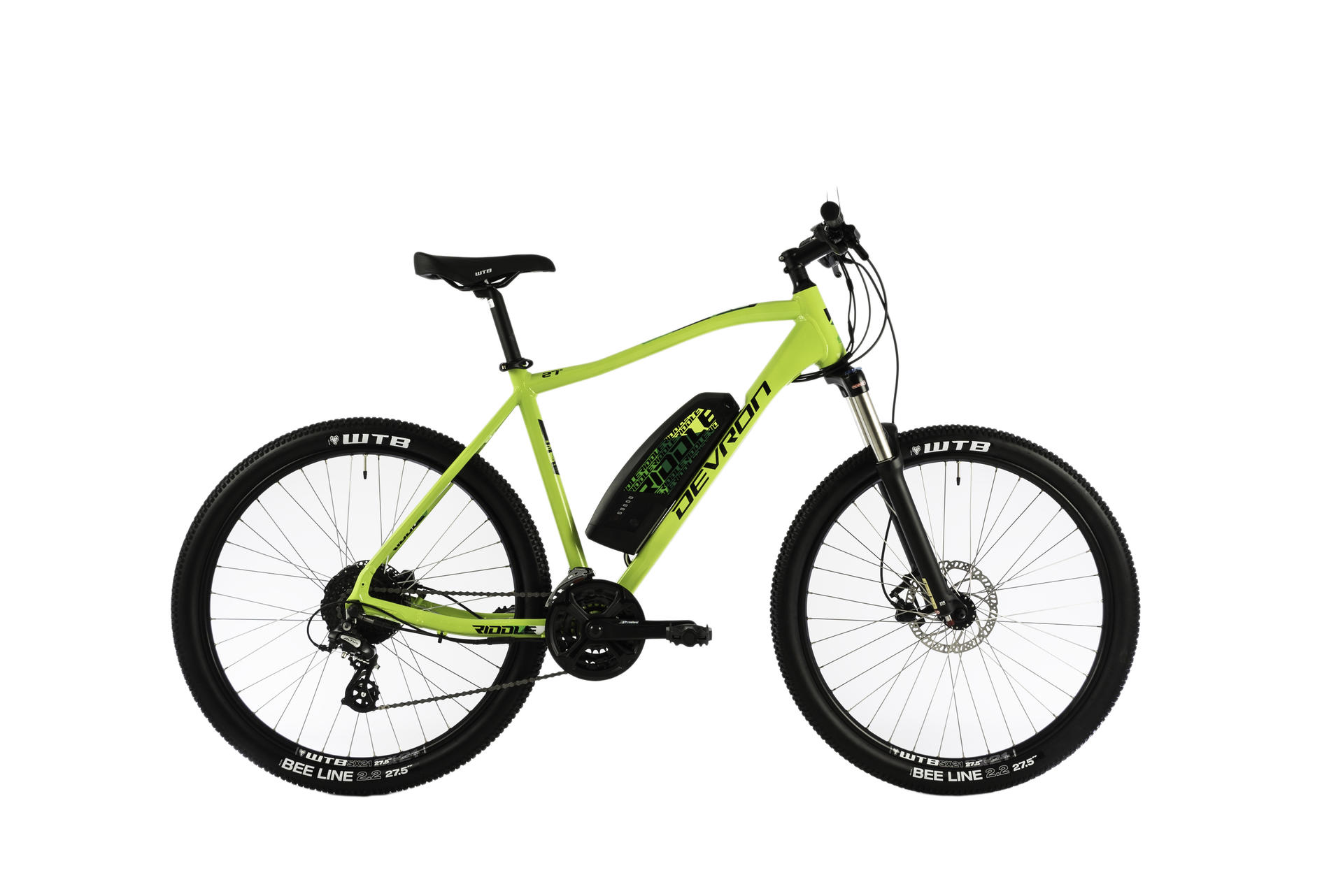 Mountain bike elettrica Devron Riddle M1.7 495mm Neon  - 27
