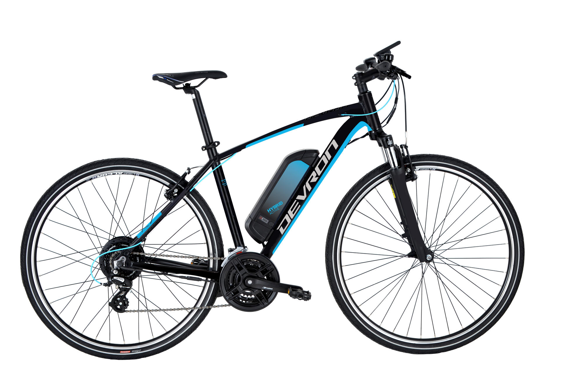 Bicicletta elettrica da cross DEVRON 28161 490mm Black Matt - 28