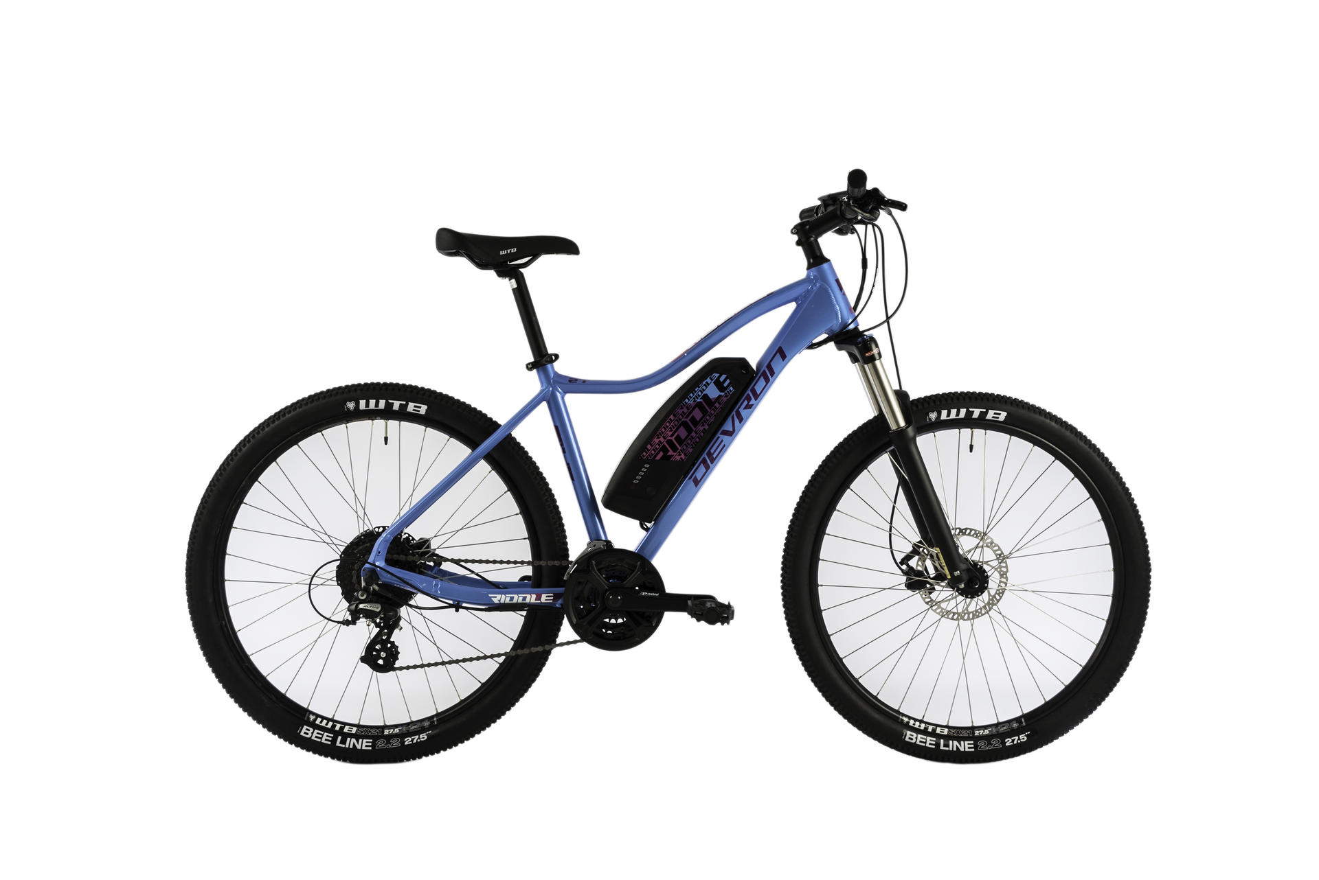 Mountain bike elettrica da donna Devron Riddle W1.7 457mm Blue -27