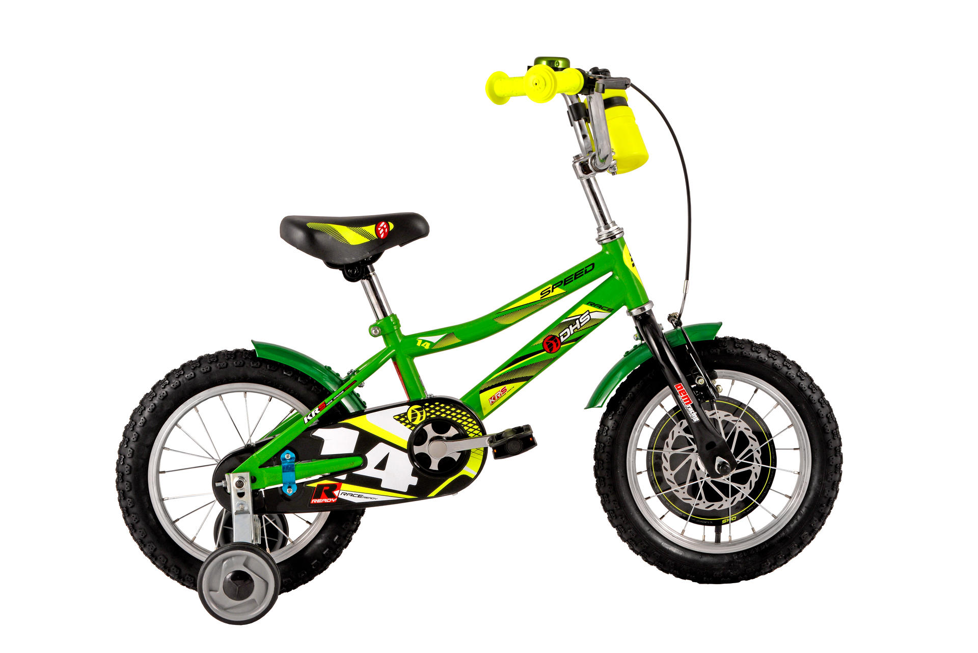 Bicicletta da bambini DHS Speed 1401 Green
