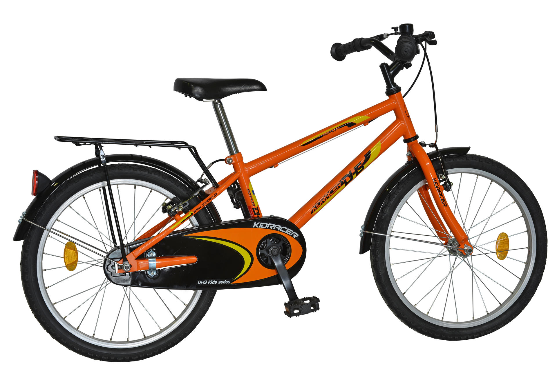 Bicicletta da bambini DHS Kid Racer 2003 Orange