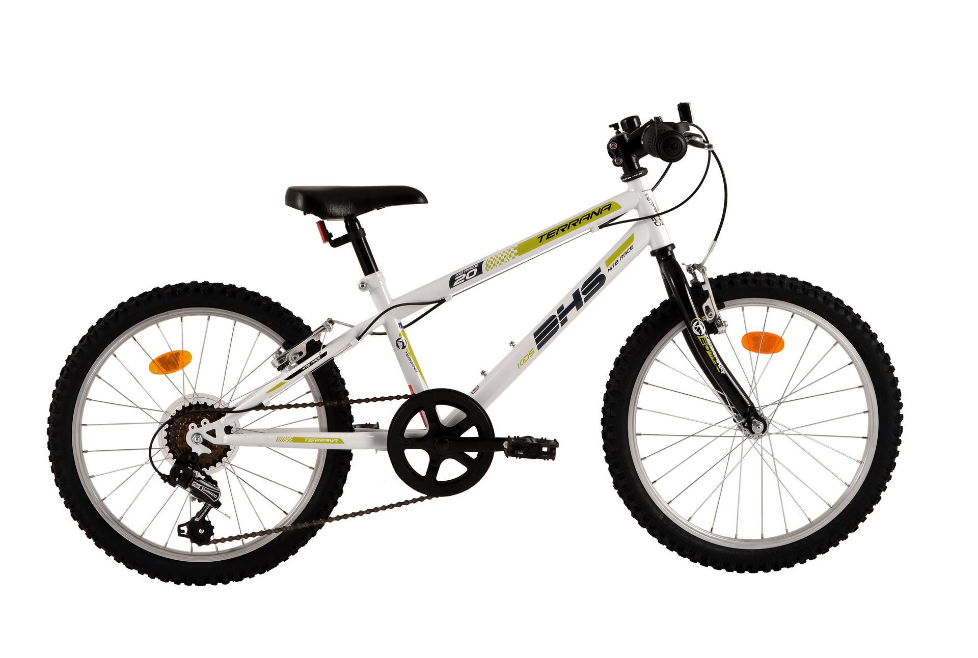 Bicicletta da bambini DHS Terrana 2021 White