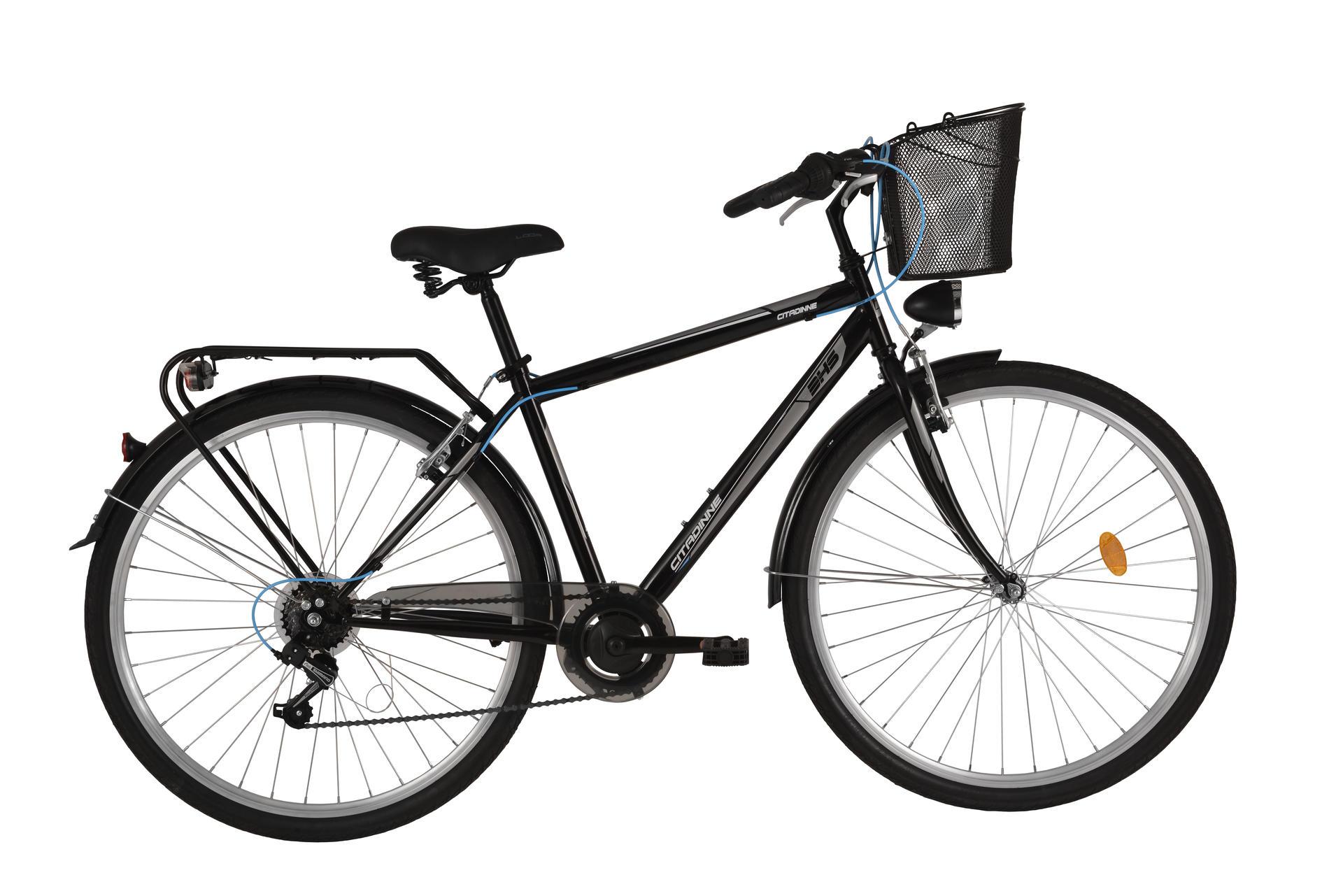 Bicicletta Uomo Da Città Dhs Citadinne 2833 Black 520mm
