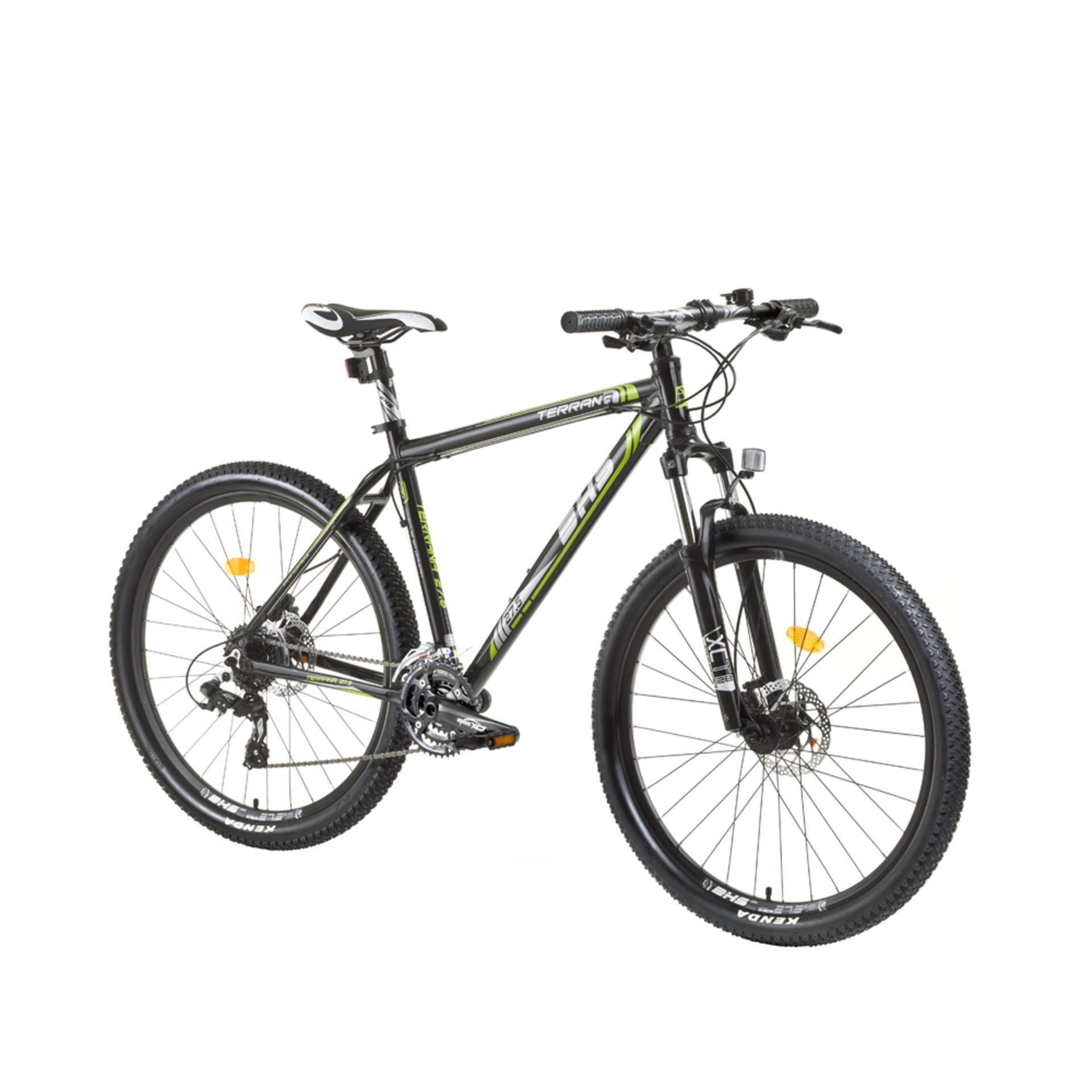 Mountain Bike Uomo Dhs 2727 Black Grey Blue 495mm