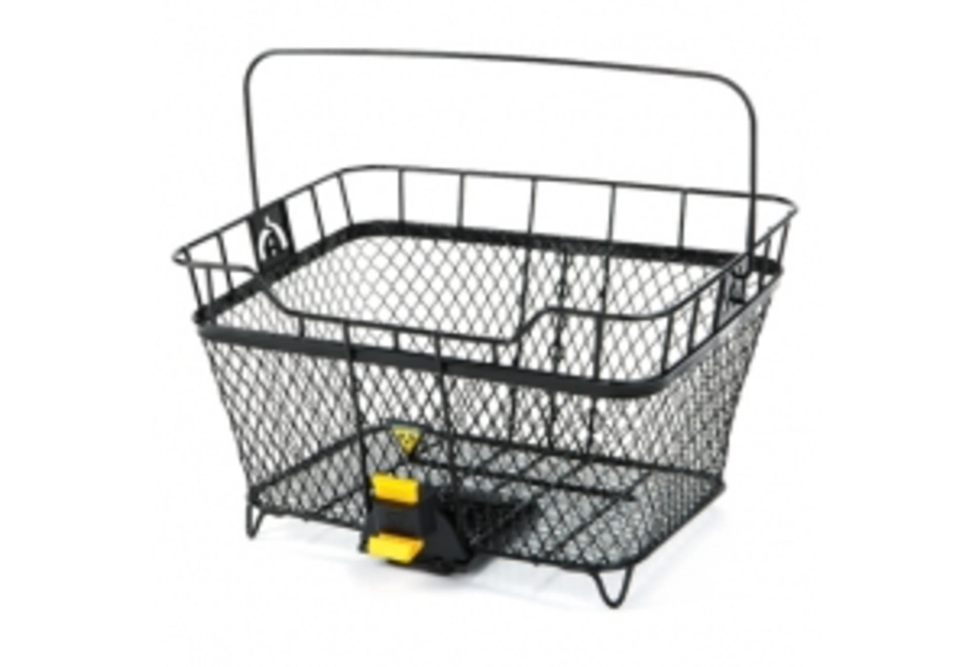 Cestino posteriore Topeak MTX Basket nero