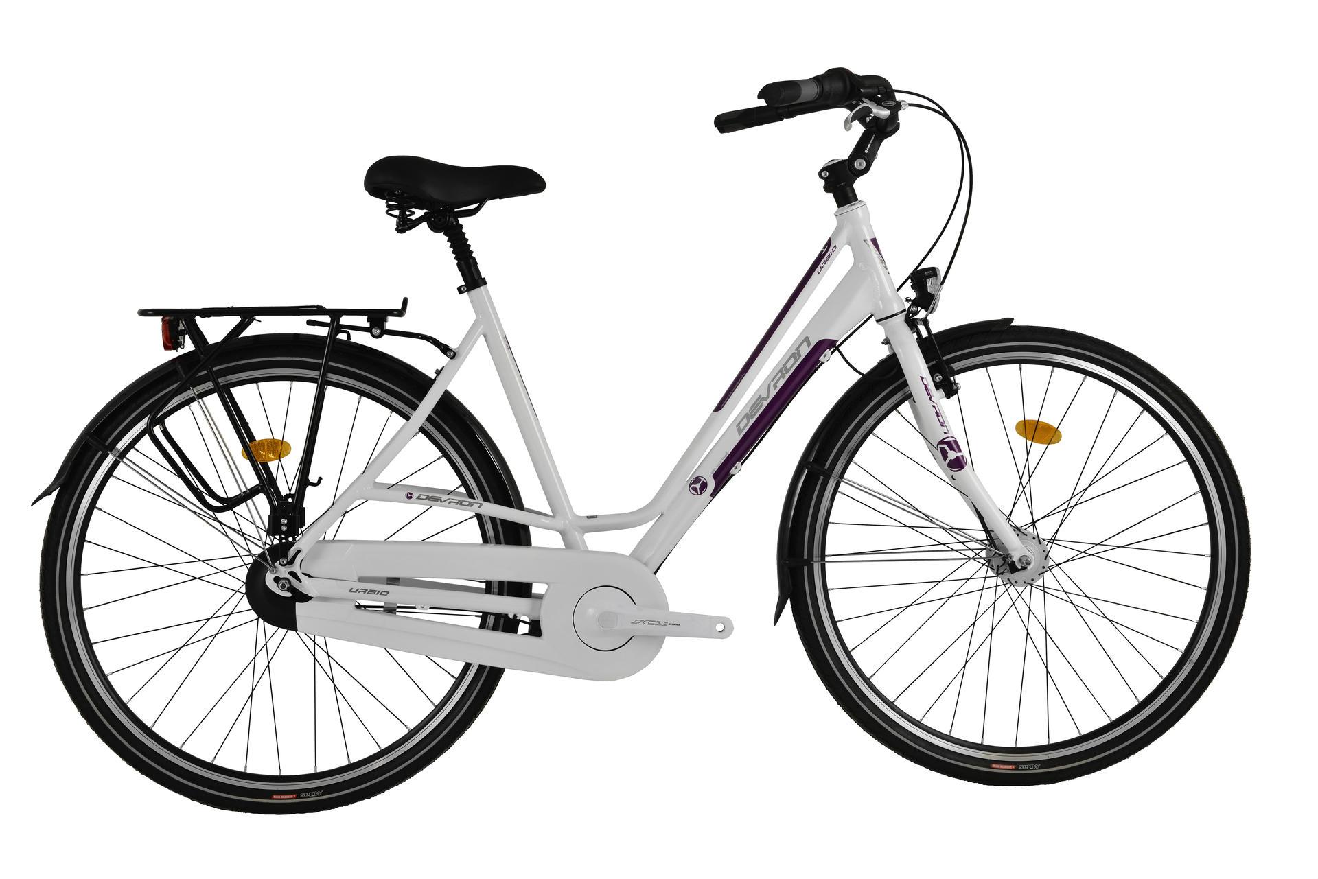 Bicicletta da città Devron Lady U.City LC2.8 Ivory White 520 mm