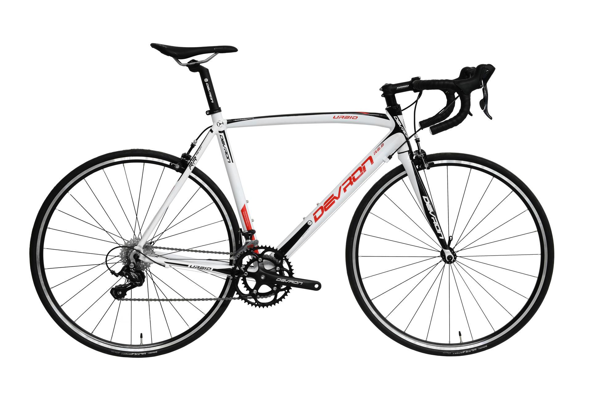 Bicicletta da strada Uomo Devron Urbio Road Race R2.8 White Fury 560mm