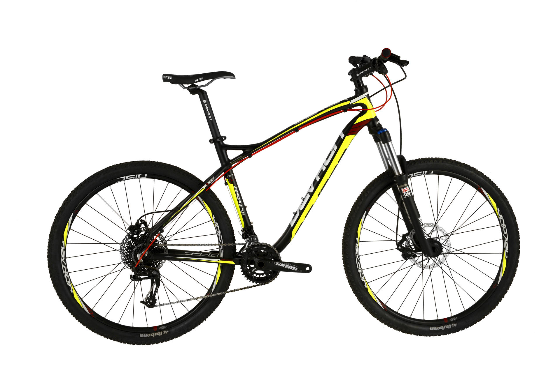 Mountain bike uomo Devron Zerga D5,7 Black Fury 495 mm